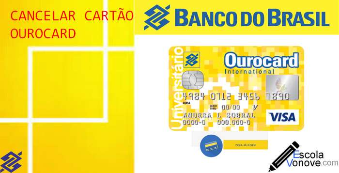 cancelar cartao do banco do brasil ourocard