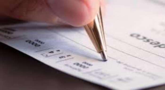 preencher uma folha de cheque corretamente