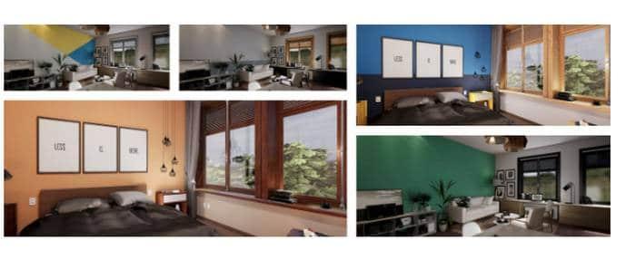 simulador de como pintar a casa