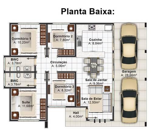planta 2 com garagem