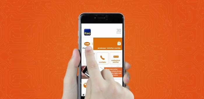 habilitar o itoken do banco itau pelo app