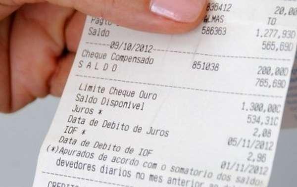 extrato do banco do brasil
