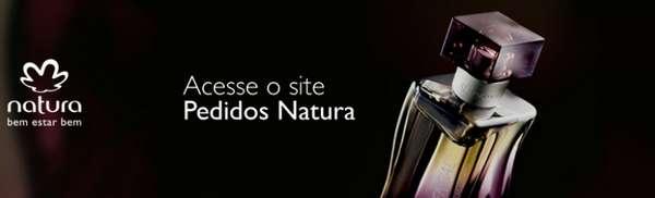 site para pedido natura