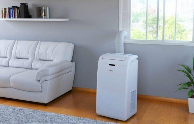 Ar condicionado portátil é uma opção para o calor