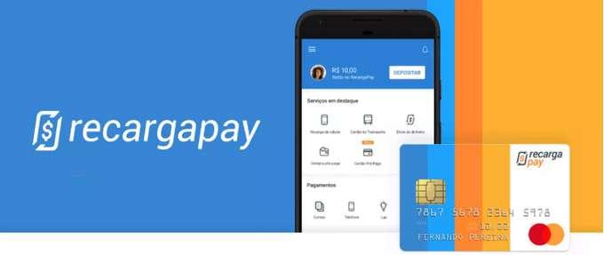 RecargaPay pagar contas e boletos
