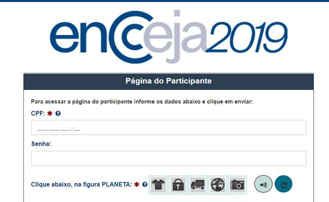 inscrições encceja 2020 - Procedimento para inscrições