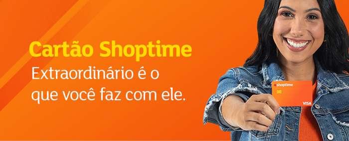 Desbloquear cartão Shoptime pela internet no celular