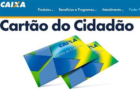 Segunda via cartão cidadão - Como solicitar sem ir na agência