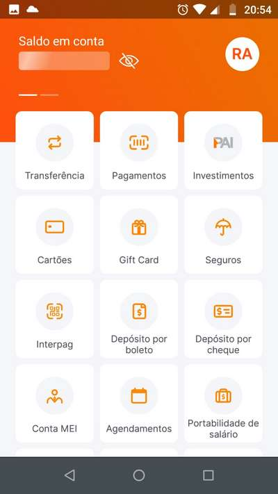 deposito auxilio emergencial banco inter