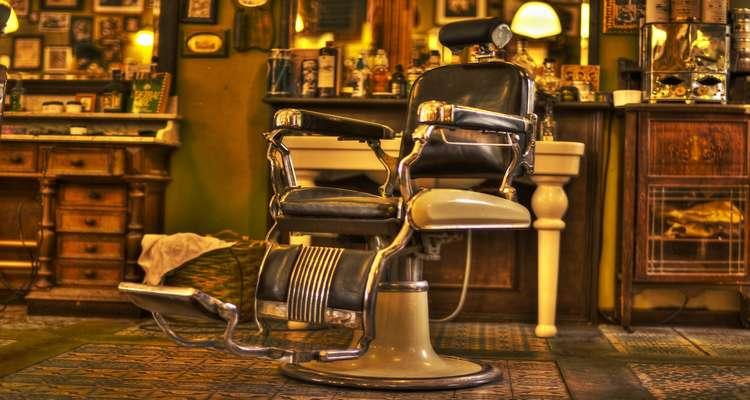 cadeira do curso para barbeiro