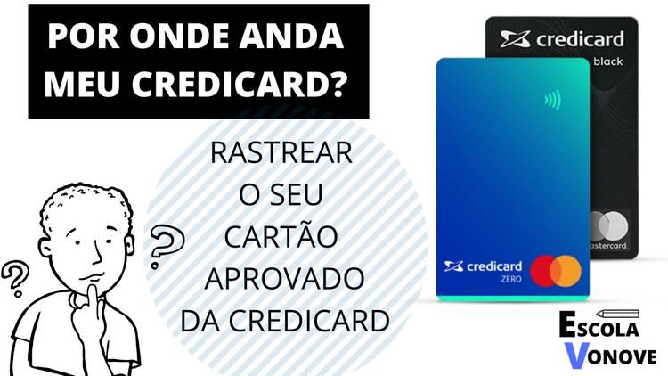 RASTREAR CARTAO CREDICARD