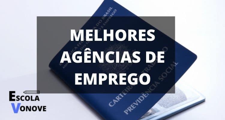 MELHORES AGENCIAS DE EMPREGO DO BRASIL